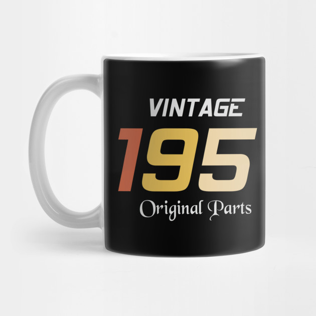 Vintage 1951 Original Parts Tee Birthday Gift Retro