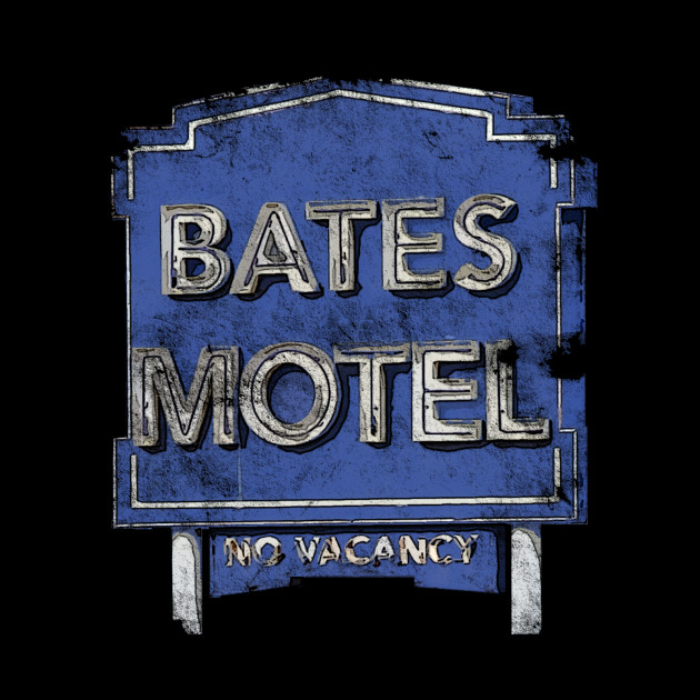 Bates Motel - Old School distressed