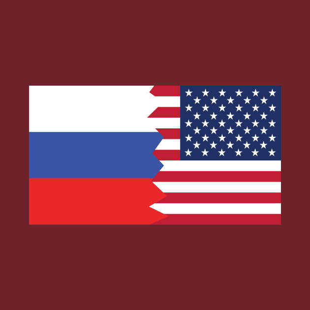 Image result for russian american flag