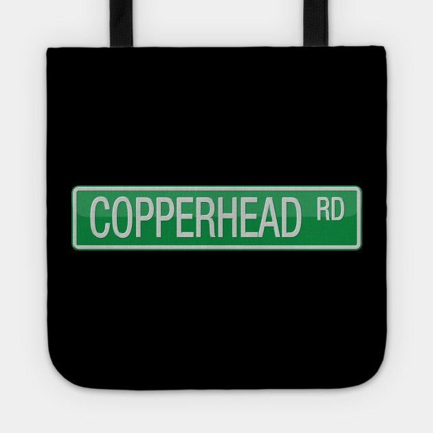 Copperhead Road Street Sign
