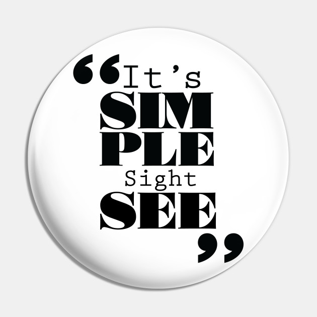It's Simple: Sightsee