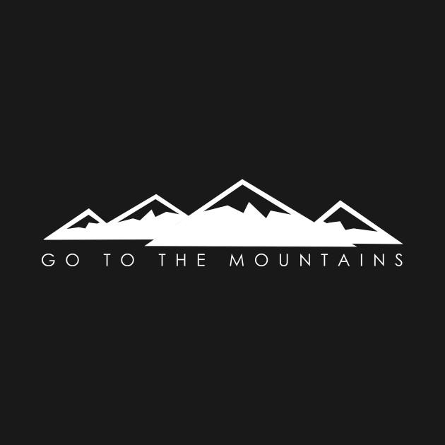 Go to the mountains (dark)