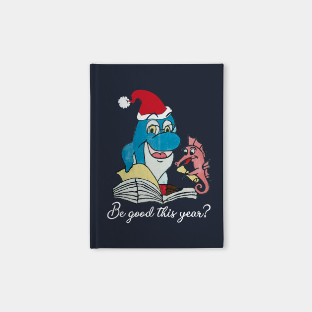 Funny Dolphin Santa Claus Costume Children Wishes Book Gift