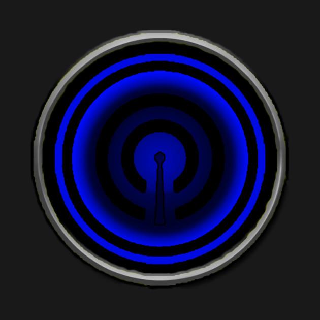 Blue Caster Emblem (Radio Sentai Castranger)