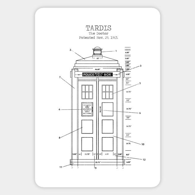 photograph regarding Tardis Printable named TARDIS