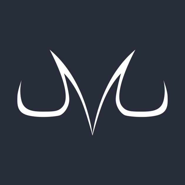 Majin symbol white - Dragon Ball Z - T-Shirt | TeePublic