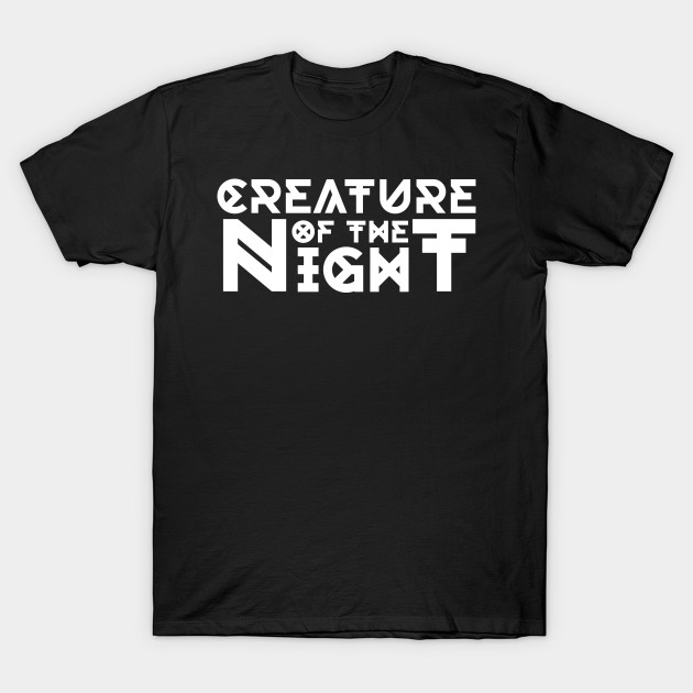 Creature Of The Night Gothic Motif