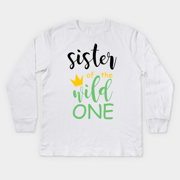 Brother Sister Wild One Matching Family Boho Birthday Shirts