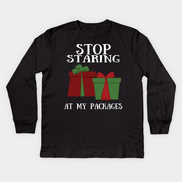 99d06b1e8c6 Funny Naughty Christmas T-Shirt Dirty Christmas Shirt Kids Long Sleeve T- Shirt