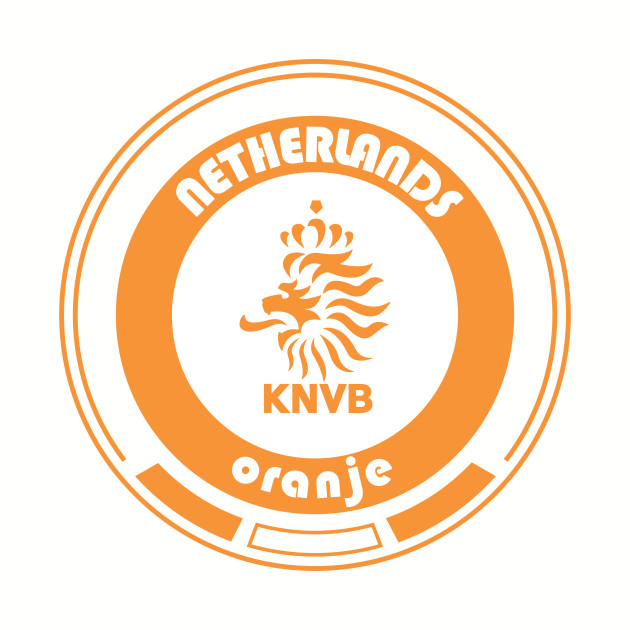 World Cup Football - Team Netherlands (distressed)
