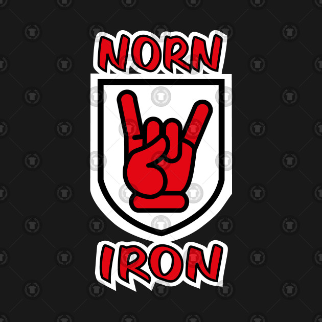 Norn Iron / Northern Ireland Red Hand of Ulster Devil Horns