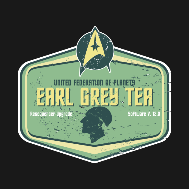 EARL GREY STARFLEET SPECIAL EDITION
