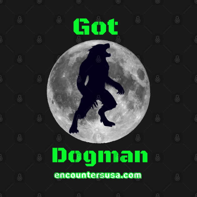 Got Dogman Action Green Letters