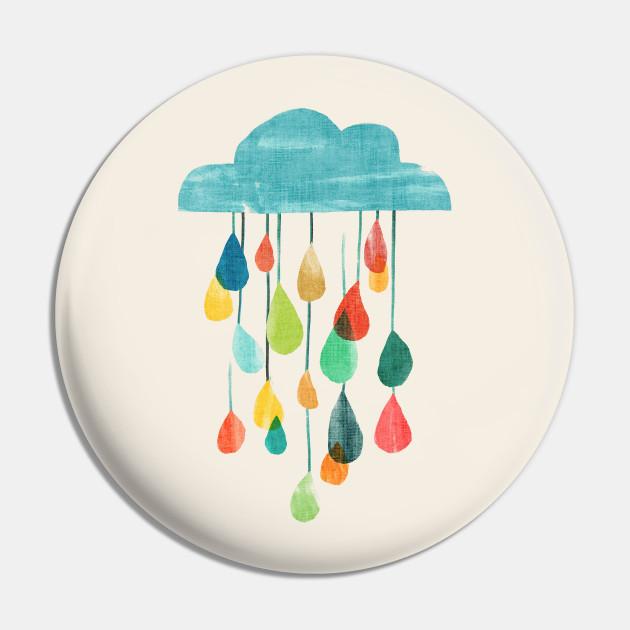 Rain and rainbow