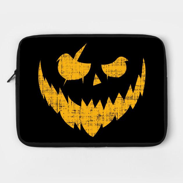 Halloween Pumpkin Creepy Smile Shirt