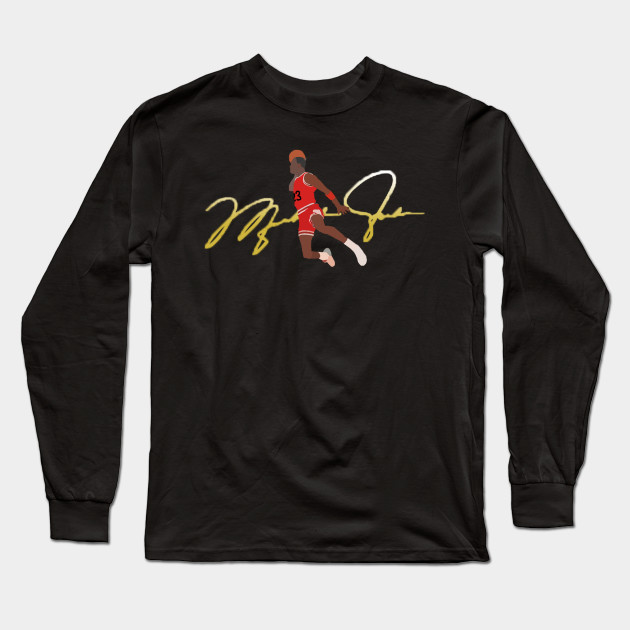 c783cf5f7287e4 Michael Jordan Signature Dunk - Nba - Long Sleeve T-Shirt