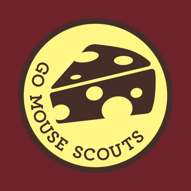 Go Mouse Scouts Logo Tee