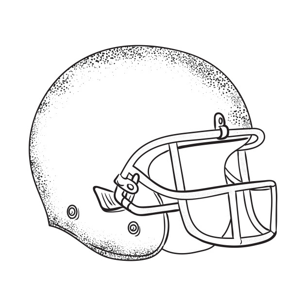 american football helmet black and white drawing american football