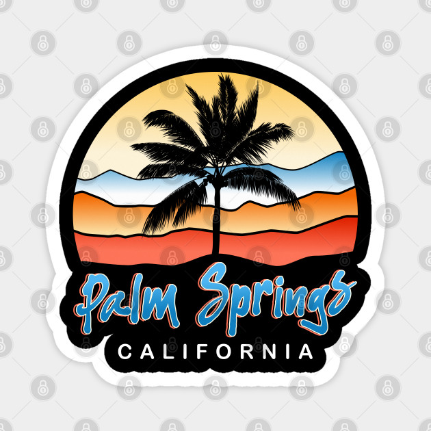 Palm Springs California Sunset Vacation Holiday