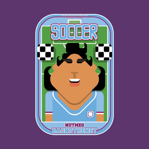 Soccer/Football Sky Blue - Nutmeg Backothenet - Indie version