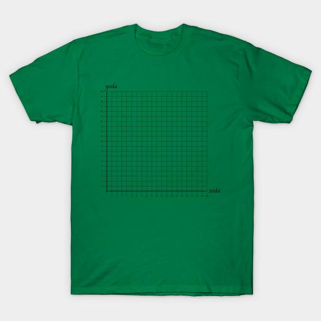 daf94d56 Yoda/Xoda - Math - T-Shirt | TeePublic