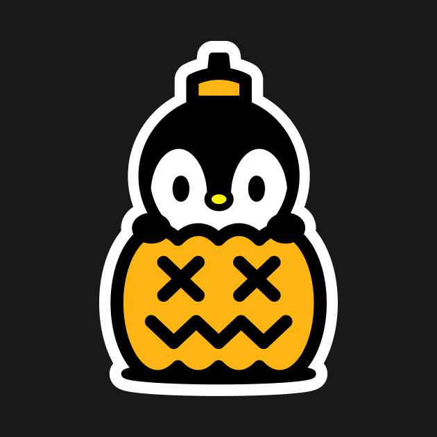 Pumpkin Penguin Bambu Brand Halloween