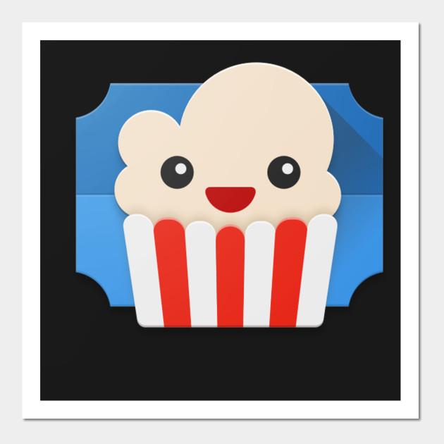 Popcorn Time - Popcorn - Wall Art   TeePublic