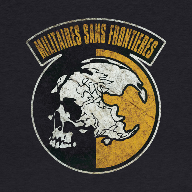 Militaires Sans Frontières (Distressed) - Metal Gear Solid