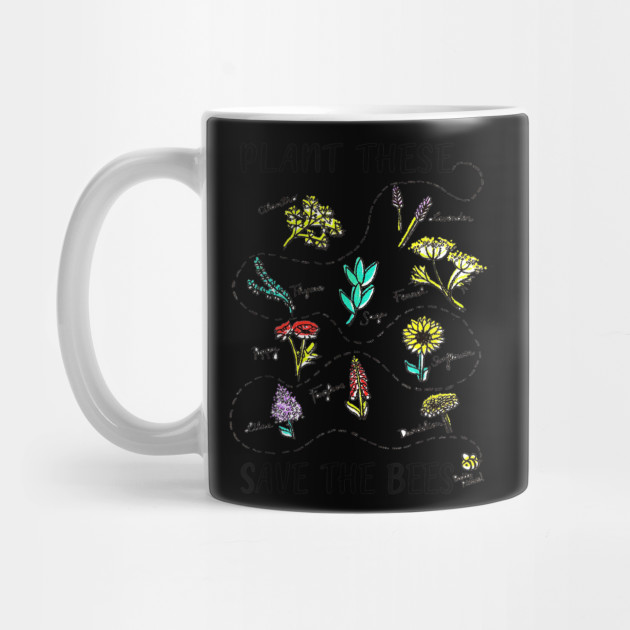 Plant These Save The Bees Shirt Flowers T Shirt Earth Day Mug