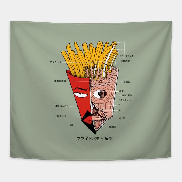 French Fries Anatomy (Version 1)