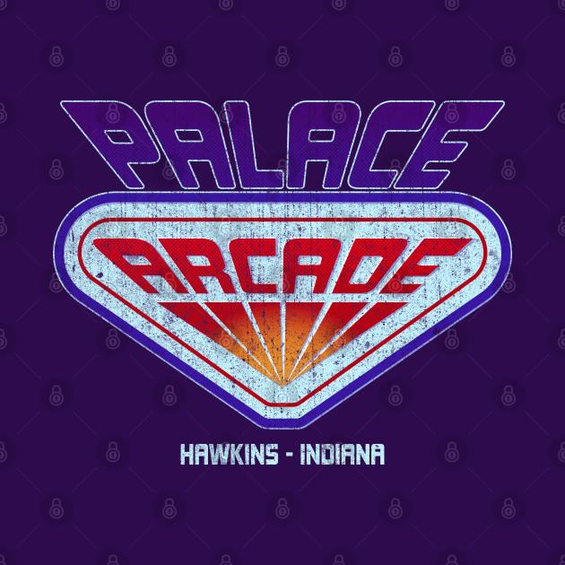 Stranger Things Palace Arcade