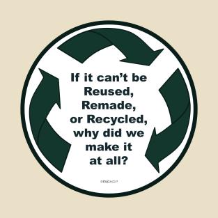 Main Tag Recycling T-Shirt