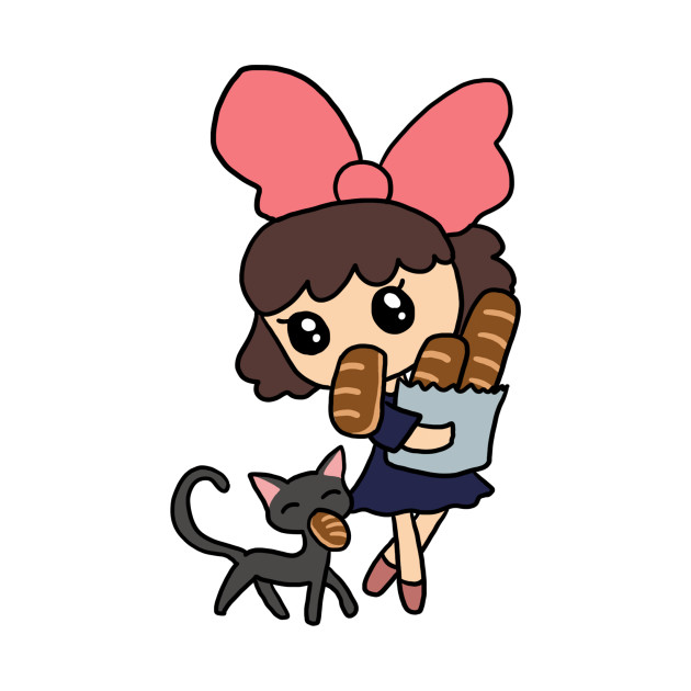 Kiki and Jiji Bread Shopping