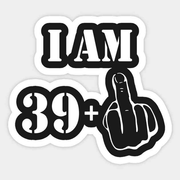40th Birthday Vintage Made In 1977 Gift Ideas Man T Shirt Sticker