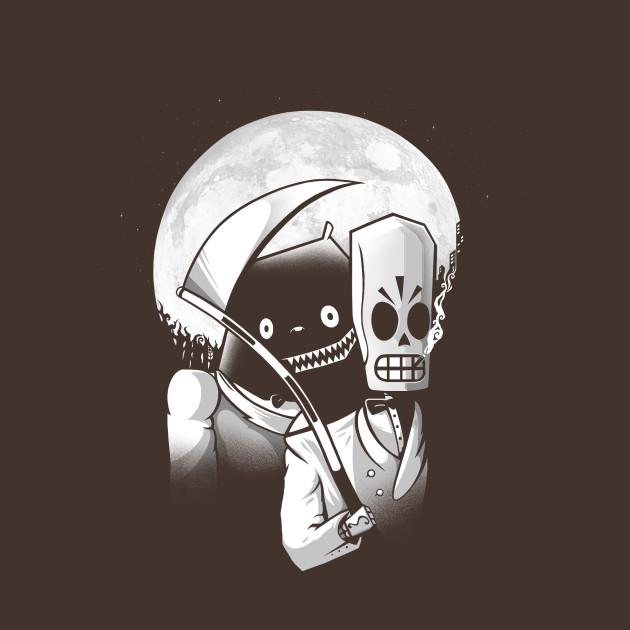 It Shone, Pale As Bone