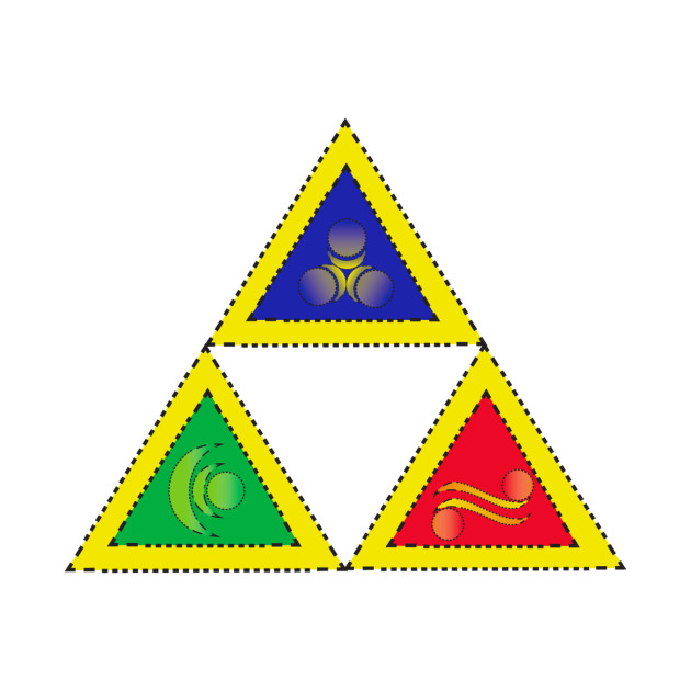 Triforce Quilted