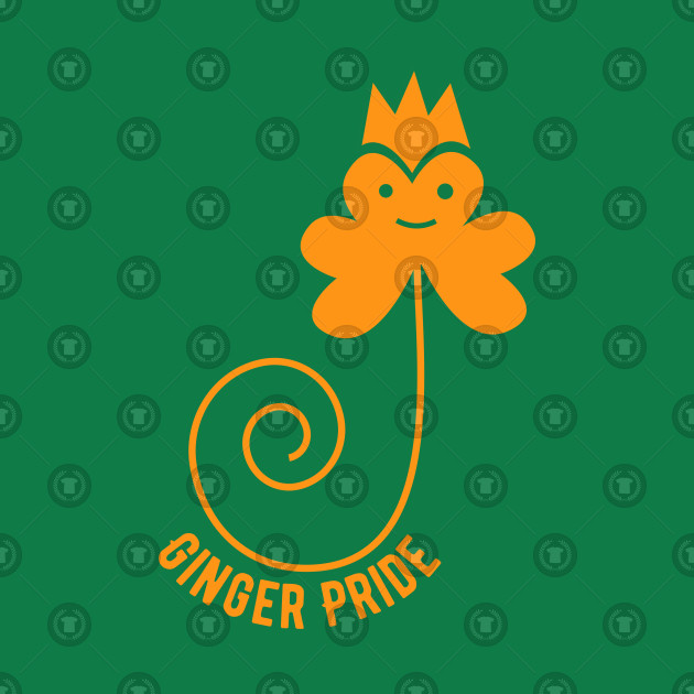 Ginger Pride T-Shirt St. Patrick's Day Party Drinking ...
