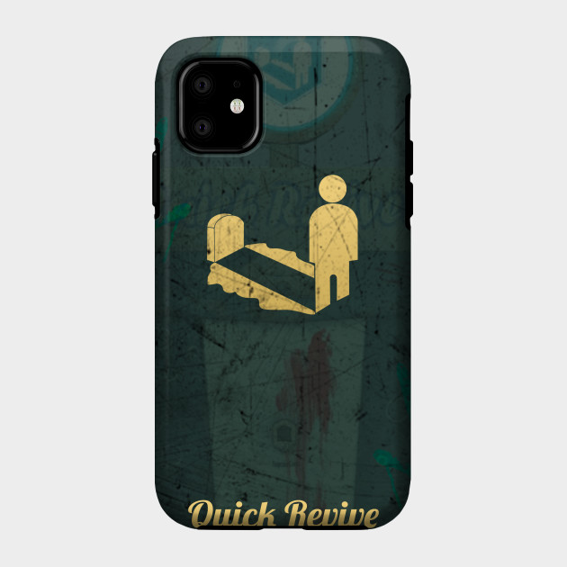 Quick Revive Poster Call Of Duty Zombies Phone Case Teepublic