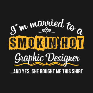 291ae2485 For Graphic Designer's Husband Funny Gift T-Shirt