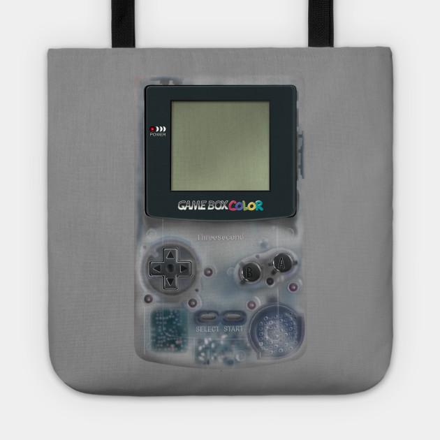 Classic retro transparent white grey game watch