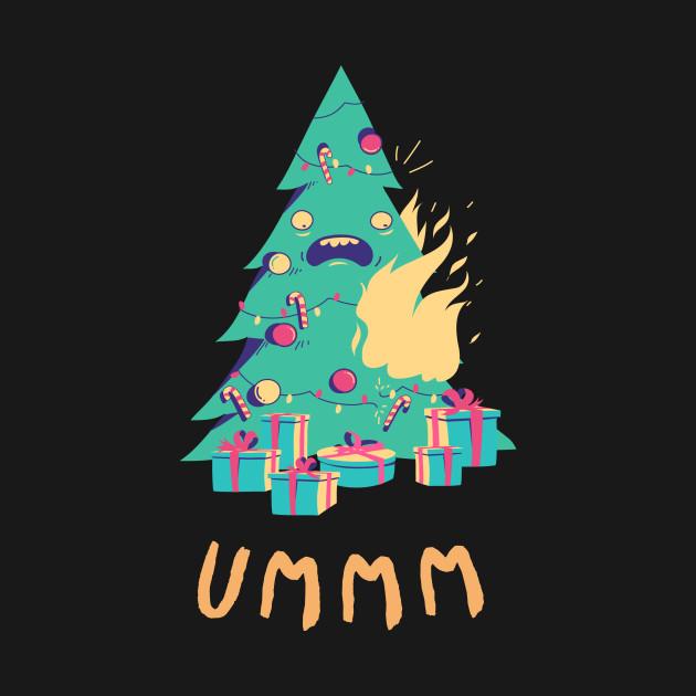 Burning Christmas Tree.Ummm Burning Chrismas Tree