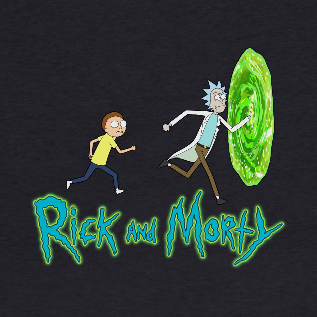 Rick and Morty - Run To Portal