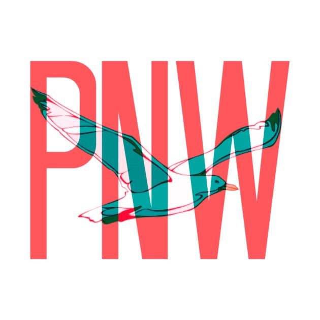 PNW Coastal Seagull