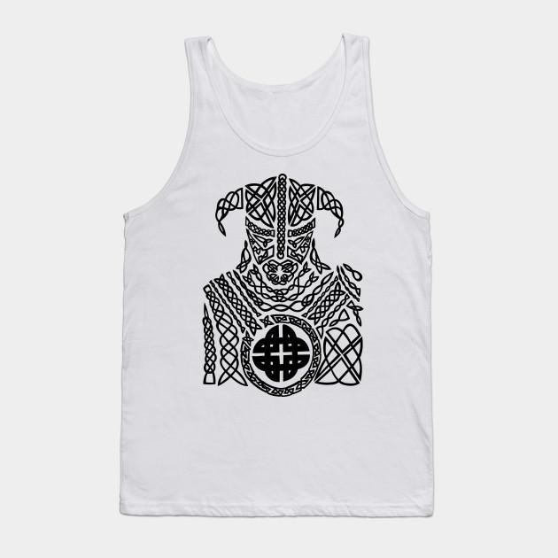 Ancient Celtic Knot Viking Warrior