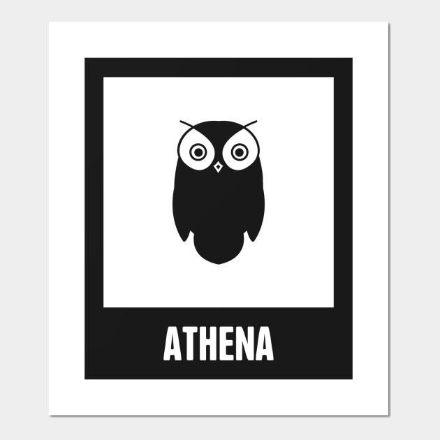 Athena Greek Mythology God Symbol Greek Mythology Posters And