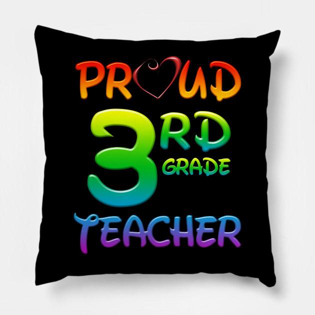 Proud 3rd Third Grade Teacher Back To School Gift School Teacher