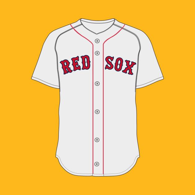 Boston Red Sox Jersey - Boston Red Sox - T-Shirt | TeePublic