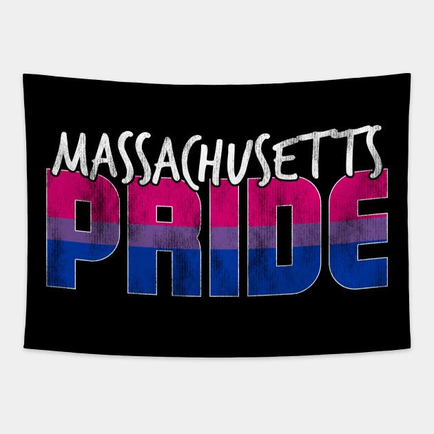 Massachusetts Pride Bisexual Flag