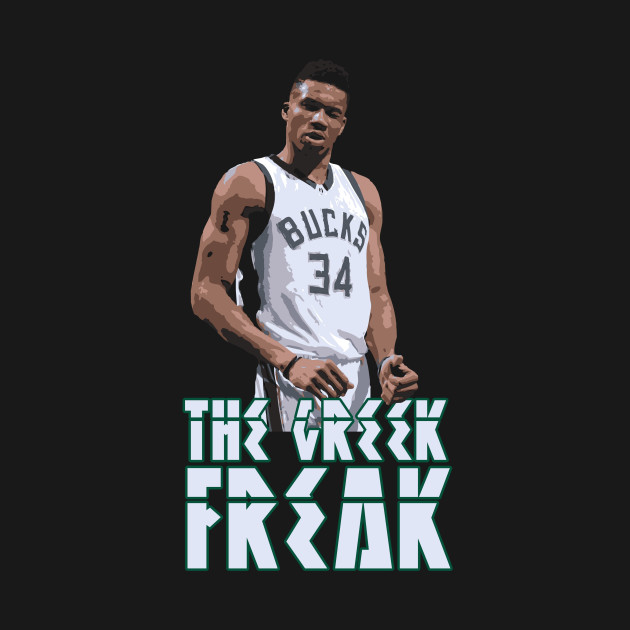 f8a98c857e9 The Greek Freak - Giannis Antetokounmpo - Kids T-Shirt