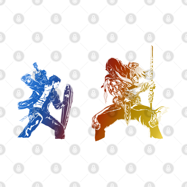 Gladio vs Gilgamesh (Episode Gladiolus)
